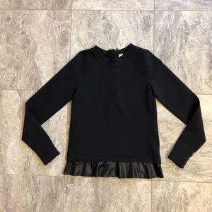 Ivivva by Lululemon Black Top (Size 14)